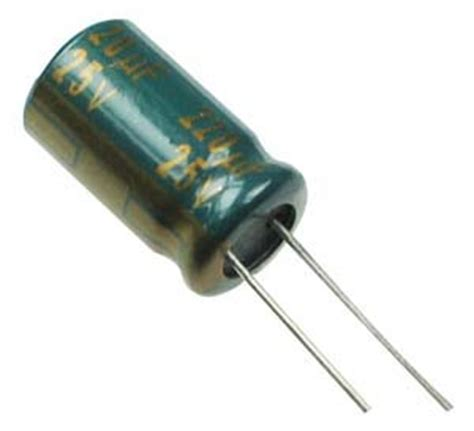 leakage in capacitor 220uf 25v radial 105 176 c electrolytic capacitor technical data