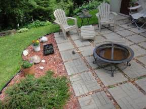 Small Garden Pit Garden Design With Patio Ideas Pit Home Wood Burning