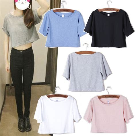 Azura Fashion Womens Basic Tshirt High Neck Sleeve summer tees cotton o neck sleeve t shirts slim