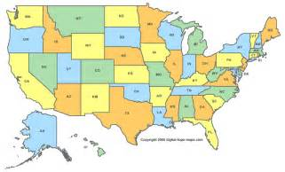 map of state united states county maps for all 50 states