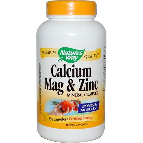 Promo Spesial Zinc Capsules nature s way calcium mag zinc mineral complex 250
