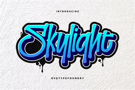 skylight graffiti desktop font webfont youworkforthem