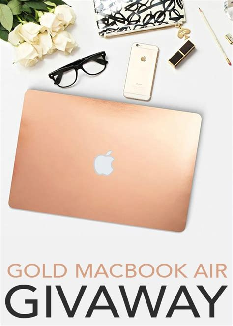 October Giveaway - october giveaway win a gold macbook air jessi living lovely