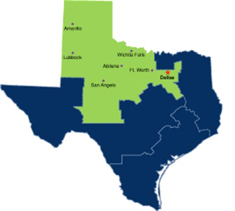 northern district of texas map image gallery northern texas