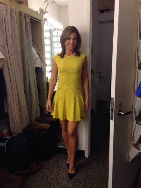 good morning america ginger zee dress ginger zee wore our mayan lace jacquard flare dress on