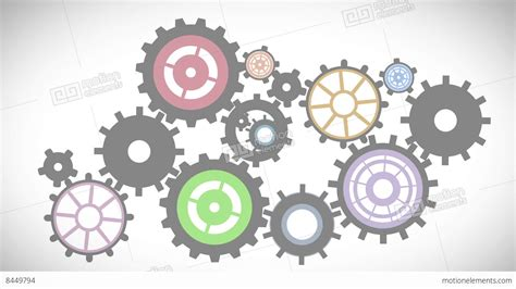 Sfu Cogs 100 Outline by Cogs And Wheels Turning Stock Animation 8449794