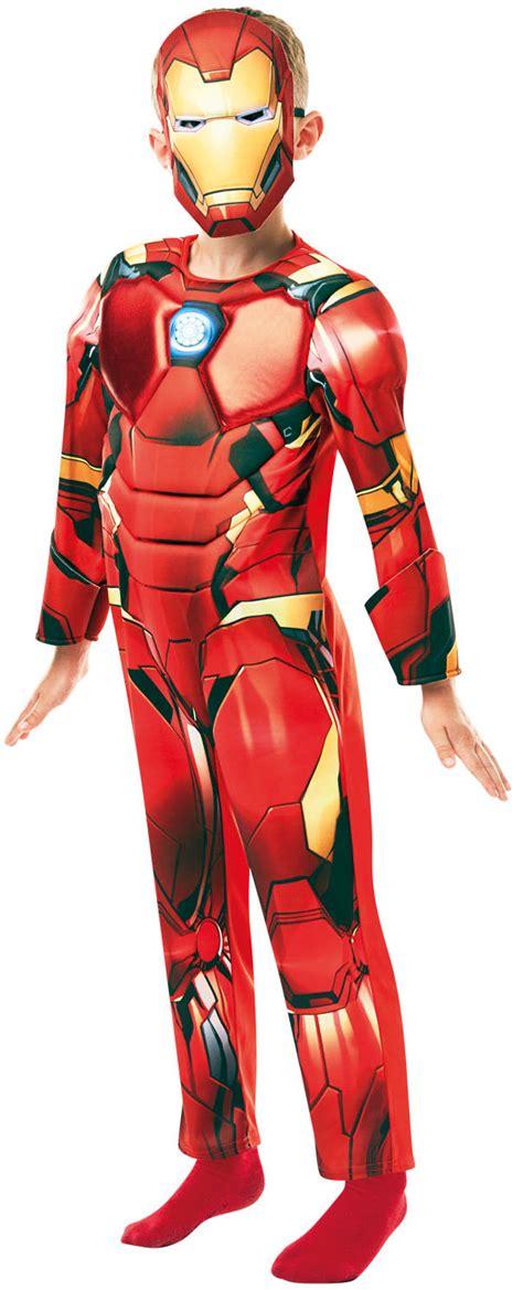 deluxe iron man infinity war boys costume tv book