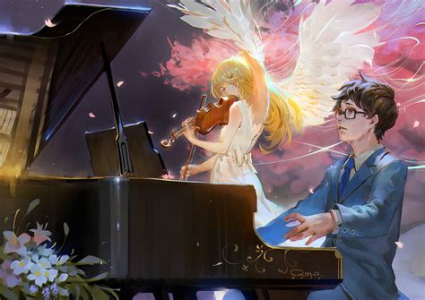 wallpaper hd anime shigatsu wa kimi no uso shigatsu wa kimi no uso your lie in april zerochan