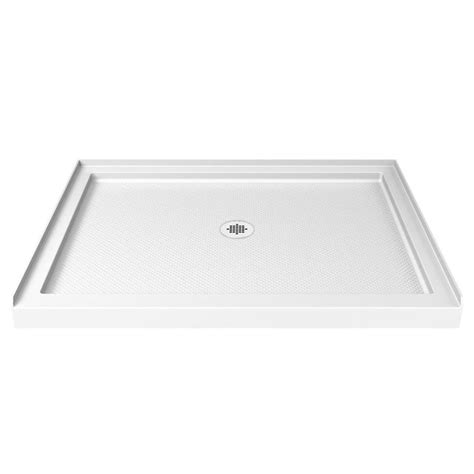 48 Inch Shower Base by Shop Dreamline Slimline White Acrylic Shower Base Common 32 In W X 48 In L Actual 32 In W X