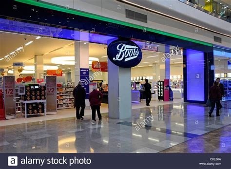 boots shopfront in the westfield stratford city shopping