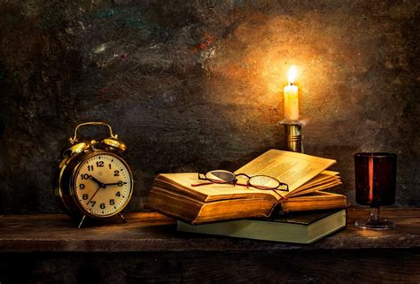 books wallpaper time to turn in watches old books candle hd wallpaper