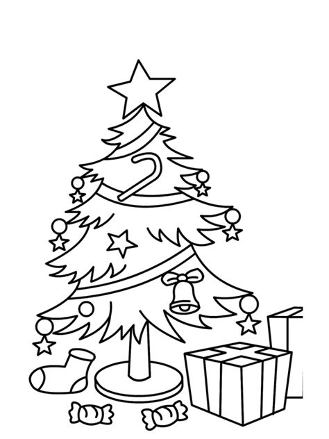 Get This Christmas Tree Coloring Pages With Gifts For Tree With Gifts Coloring Pages
