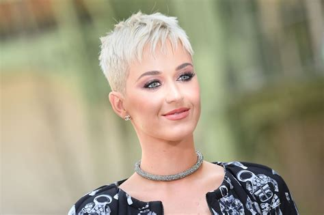 katy perry feels liberated by her new haircut popsugar