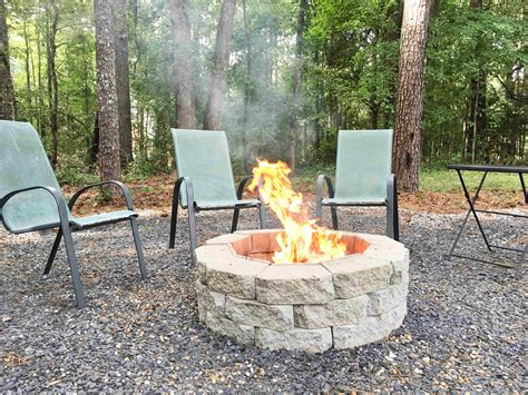 how to make a diy pit in your backyard building our rez