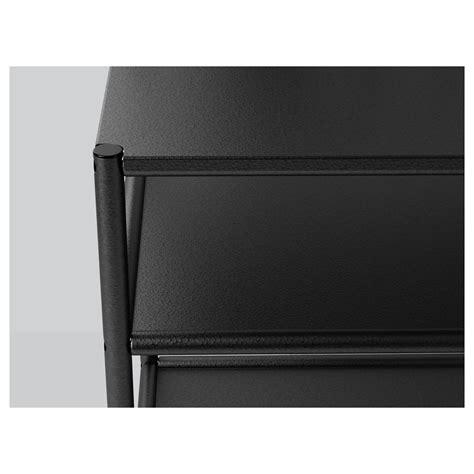 fyresdal ikea fyresdal bedside table black 45x38 cm ikea