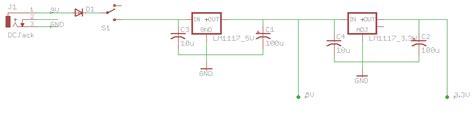 3v power supply circuit diagram voltage regulator 5v and 3 3v power supply electrical