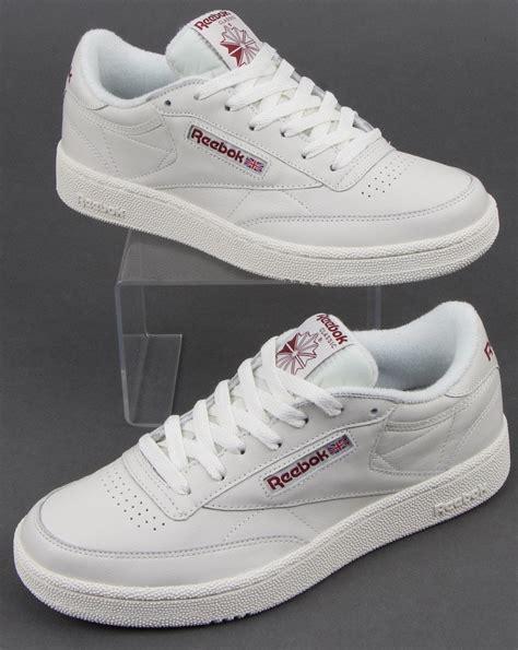 reebok club c 85 trainers in white 80s casual classics