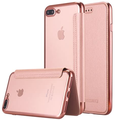 iphone 7 plus lontect slim pu leather folio flip with card slot c ebay
