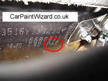 chrysler touch up paint kits car paint wizard
