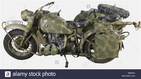 Bmw Motorrad R75 by A Bmw R75 With Sidecar And Ammunition Trailer Issued In
