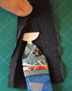 cara membuat origami boneka jepang cara membuat boneka jepang dari kertas origami semua
