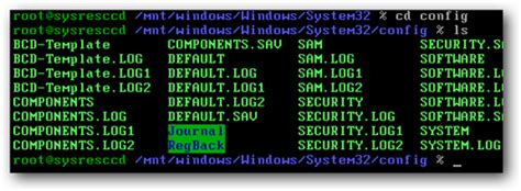 reset windows password with system rescue cd change your forgotten windows password with the linux