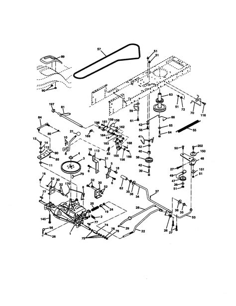 sears lawn tractor parts diagram sears lawn tractor diagram wiring diagram