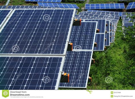 solar panels purpose the use of solar energy stock images image 25137464