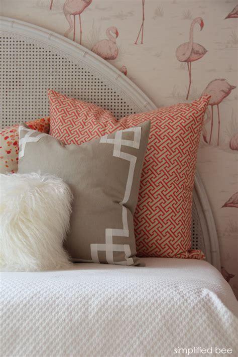 flamingo wallpaper room girls flamingo bedroom caitlin wilson textiles