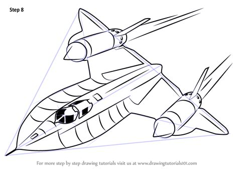 Blackbird Jet Coloring Pages | printable coloring pages airplanes sr 71 coloring pages