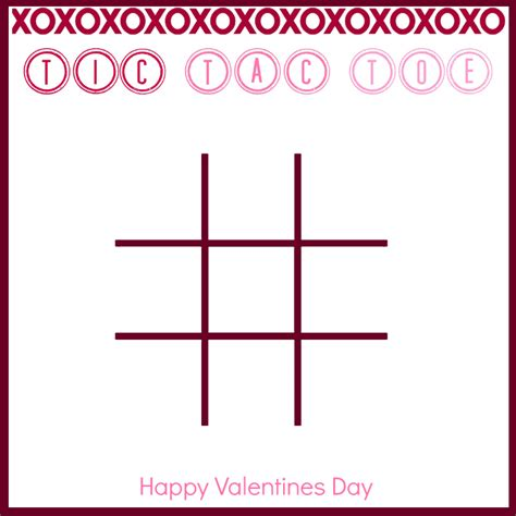 6 Best Images Of Valentine S Tic Tac Toe Printable Valentine Tic Tac Toe Valentine Tic Tac Tic Tac Toe Template Printable