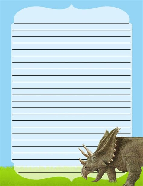 dinosaur writing paper discover and save creative ideas