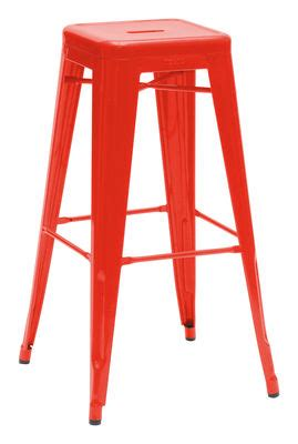 bar stool   tolix red   design uk