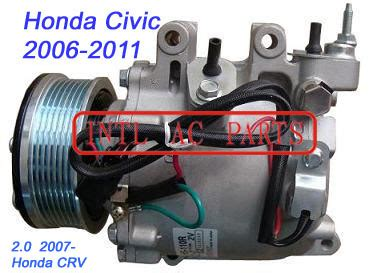 Kompresor Honda New Crv 2 2003 2007 Assy Kw Newbaru kompressor trse07 trse09 for honda civic 2006 2011 honda