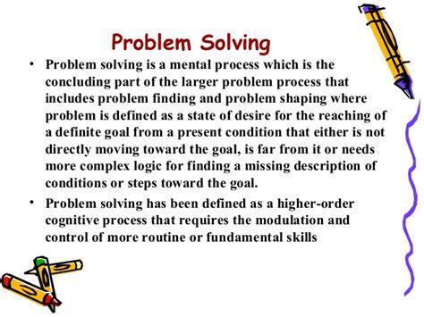 define problem solving process driverlayer search engine