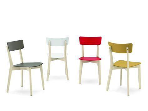 sedie propilene sedia jelly in legno e polipropilene di connubia calligaris