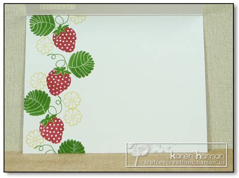 canvas kth sweet strawberry wishes carefree creations