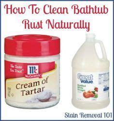 how to clean a bathtub naturally 1000 ideas about clean bathtub on pinterest bathtub