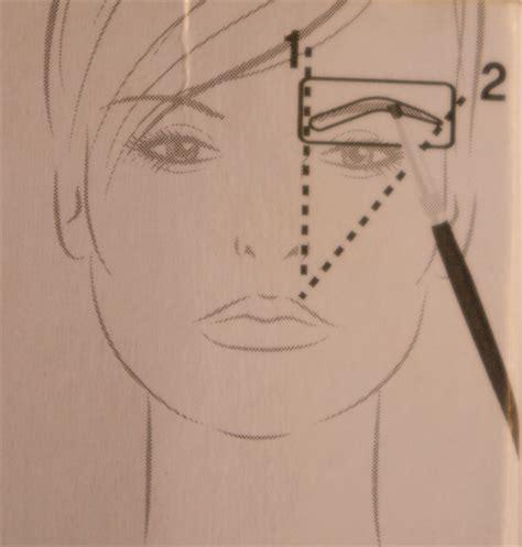 e l f eyebrow stencil kit review