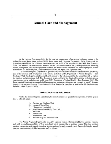 Animal Facility Manager Cover Letter by Bronx Zoo Employment Application Employment Application