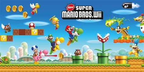 Kaos Mario Bross Mario Artworks 16 new mario bros wii archives nintendo everything
