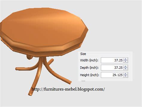 Meja Makan Marmer Bundar furniture meja makan bulat lebih murah furniture mebel