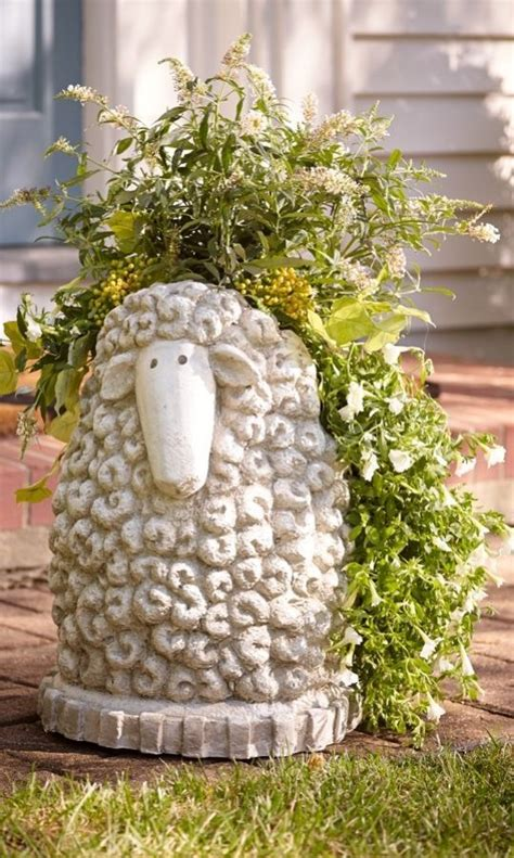 Sheep Planter by 1000 Images About On Outdoor Wall Outdoor Mats And Charleston Gardens
