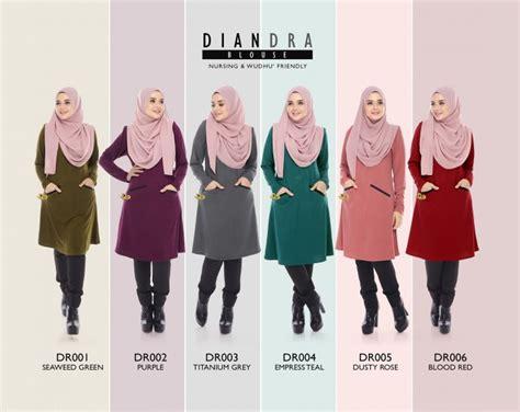 Tunic Blouse Muslim N Xxxl 6 terbaru blouse diandra ala tunic teramat gorgeous