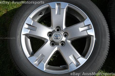 Toyota Wheels 2012 Toyota Rav4 Oem 18 Quot Wheels Runflat Tires Tacoma Camry