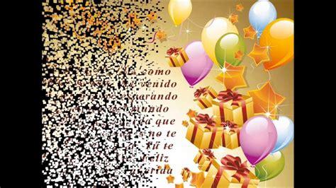 imagenes de cumpleaños tia hermosa feliz cumplea 209 os mari carmen youtube