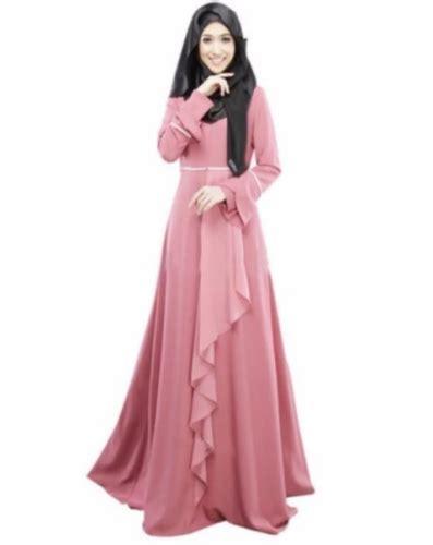 Maxi Gamis Maxy Dress Longdress Panjang Baju Muslim Pesta Elegan dress muslimah jadi fesyen baju yang semakin popular