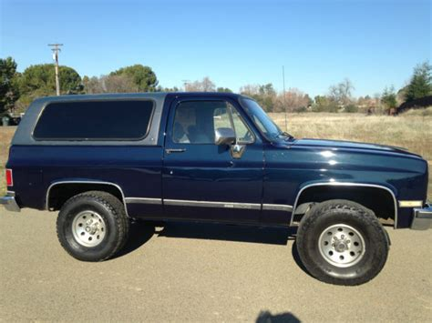 gmc jimmy 1989 1989 gmc jimmy 4x4 rust free clean chevrolet blazer