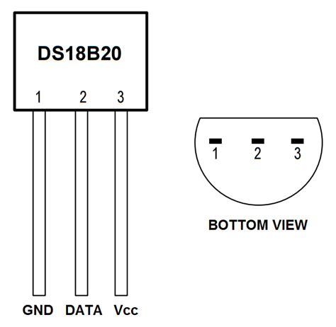 raspberry pi dsb temperature sensor tutorial circuit