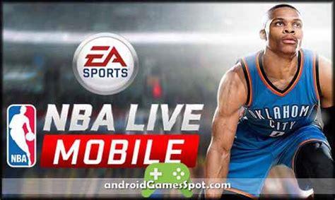 nba live apk free nba live mobile basketball apk v1 5 2 version free